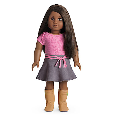 how to clean american girl doll skin